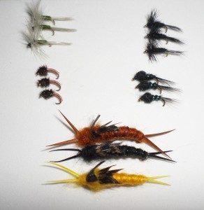One of our custom wild fish fly selections for January