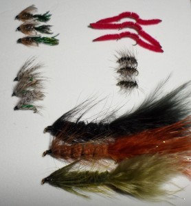 One of many custom January fly selections for STOCKED trout